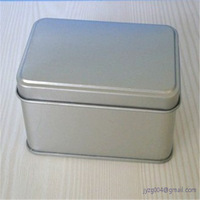 Recyclable Feature customized factory tin can/tin case/rectangular metal business card tin box