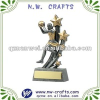 Female resin sport trophy,promotional gift