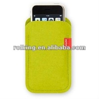 Felt material Cell Phone Case,Felt mobile phone bag