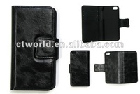 Fashional leather flip belt pouch case for iPhone 5s