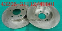 Competitive brake disc 43206-31U12