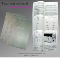 permanent makeup&tattoo tecnology practice book