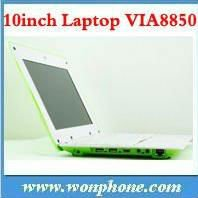 OEM&ODM 10.1INCH mini laptop VIA8850 10.1'mini netbook cheapest android laptop