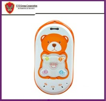 Baby bear tracker PT301 orange&blue baby cell phones/cheap gps tracker for kids
