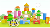 high quality wooden building block game