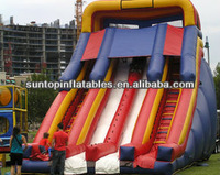 newest inflatable jumping dry slide games with best quality and best price