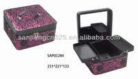 2012 newest promotional cosmetic case with mps or ipad player