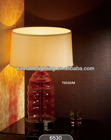 Glass Entrance Table Lamp Modern Home Hotel Project