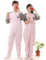 2013 Popular New style All in one Pajamas Sleepsuit Sleepwear Pyjamas Onesie With Footed For Lovers