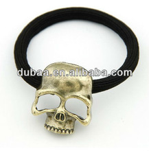 Classic Metal Skull Hairbands Hair Elastic Cord Bands,Elastic Cord Band,Elastic Metal Band