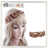 Strip chiffon nature bow head wrap