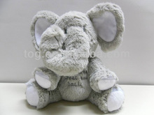 Plush Musical Elephant with Verse & slogan