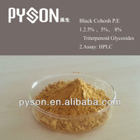 Best price with high quality black cohosh powder extract