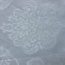 Polyester fabric royal style jacquard curtain