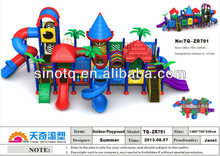 2014 Newest Natural Kid Play Outdoor Playground Equipment