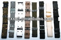 PP or Nylon Material Military Belts