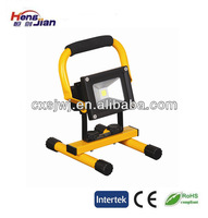 10w led flood light rechargeable with ITS certificate family used work light emergency light