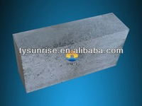 Grey bricks Fused Cast Skid Rail Block as glass kiln hearth block