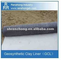 Bentonite mat geosynthetic clay liner (GCL)