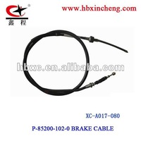 Car brake cable OEM No P-85200-102-0 .break wire with high quality