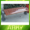 Outdoor Good Quality Wooden Long Bench
