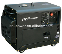 5 kw Silent Diesel portable power mini generator