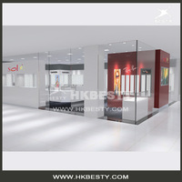 Optical shop display cases for sunglasses