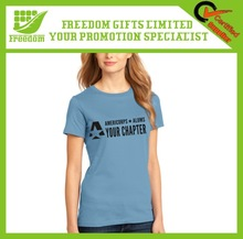 Promotional Custom Logo 100% Cotton T-shirt
