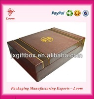 2015 Rectangular wooden box wooden essential oil box for sale