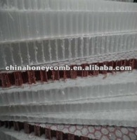 chinese polypropylene honeycomb core building parts filling
