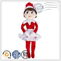 High quality hot selling customed new design lovely 7 inch craft dolls