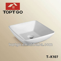 Ceramic Laundry Sink Small Size Sink Bathroom Square Sink T-K107
