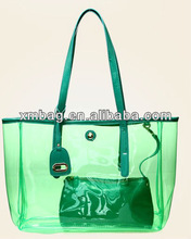 green summer beach big pvc bags for women from pvc bags manufacturer
