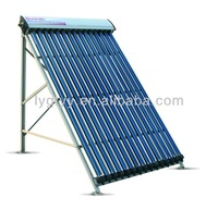 heat pipe evacuated tube solar collector