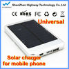 portable 5000 mAh solar charger