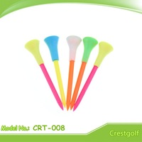 New design plastic golf tee with rubber top