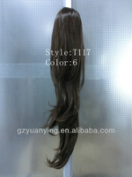 ponytail claw clip hair extension
