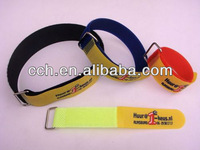 colorful hook and loop wristband