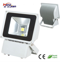 LED Spotlight Flood Light High Power 100W Outdoor lighting Mean well driver