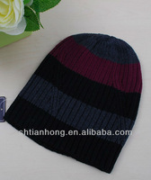 newly knitted winter fashion fleece lined beanie