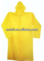 Disposable Plastic Raincoat/Disposable PE Raincoat/Disposable PVC Raincoat for auto industry,company promotion