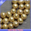 2014 NEW FASHION DESIGN WHOLESALE GOLD PEARL OF HOT-SELLING PEARL STRAND