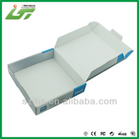 colorful die cut carton box with logo