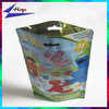 printed colorful small plastic pouch stand up