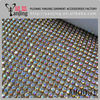 hot fix mesh rhinestone strip,aluminum rhinestone mesh