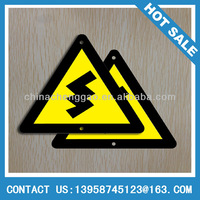 Triangle Printing Warning plates,Aluminum Safety Road Signs
