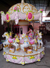 2015 hot sale swival amusement park equipment/mini carousel ride