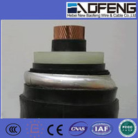 High voltage grounding cable,3 core high voltage cable