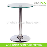 modern glass bar table BN-T006