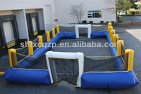 giant inflatable human football ,inflatable foosball pitch